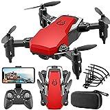 J-Clock Mini Drone Plegable con cámara LF606 Helicóptero teledirigido RC Quadcopter sin Cabeza