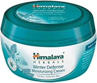 Himalaya Herbals Winter Defense Moisturizing Cream (For Dry, Extra Dry Skin) 100gm - All Seasons, All Skin Types, Pack of ...