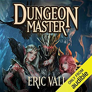 Dungeon Master audiobook cover art