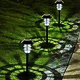 Solpex 8 Pack Solar Pathway Lights Outdoor, Solar...