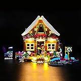 BRIKSMAX Kit de LED pour Lego Friends Le Chalet de la Station de Ski,Compatible avec...