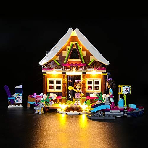 BRIKSMAX Led Beleuchtungsset für Lego Friends Chalet im Wintersportort,Kompatibel Mit Lego 41323 Bausteinen Modell - Ohne Lego Set