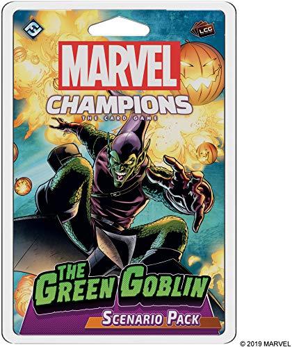 Fantasy Flight Games - Marvel Champions: Escenario Pack: El Duende Verde - Juego de Cartas