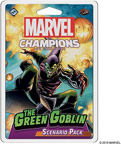 Fantasy Flight Games Marvel Champions: The Card Game The Green Goblin Scenario Pack
