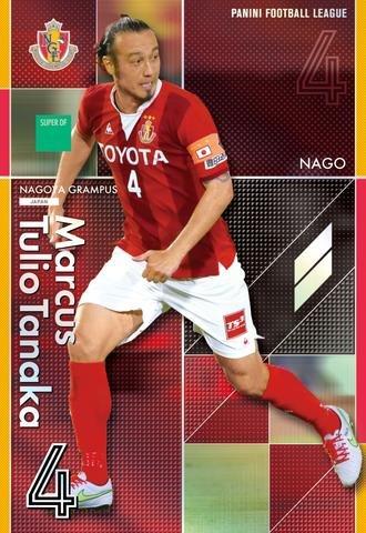 パニーニJリーグエディション第2弾/PFL-J02-140/名古屋グランパス/SUPER/田中マルクス闘莉王