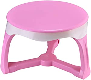 Oureong Kids Desk Kindergarten Baby Activity Table Learning Writing and Drawing Small Table,Kids Round Table,Environmentally Friendly Materials, Super Load-Bearing Student Desk for Kids Homework