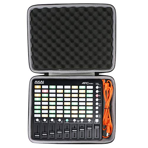 co2crea Hard Travel Case for Akai Professional APC Mini | Compact Ableton Live controller
