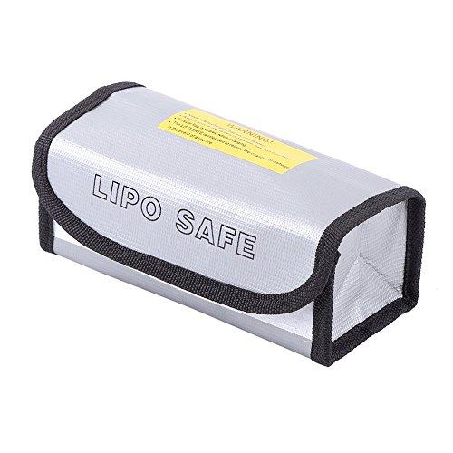 Dilwe Lipo Batería Bolsa de Seguridad, Ignífugo A Prueba de Explosiones Safety Guard Case Bateria Cargando Bolsa de Proteccion Sack Pouch Protector