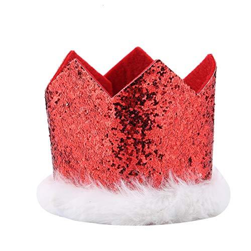 Collar de Papá Noel para Mascotas, diseño de Hebilla de plástico, Atractivo Gorro de Papá Noel para Gatos, para Cachorros, Gatitos, Mascotas pequeñas