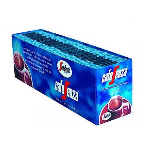 Segafredo - Cafesenza Decaffeinato 7gr, confezione da 50 bustine [350g]