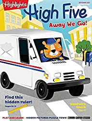 Highlights High Five Magazine - subscription for preschoolers