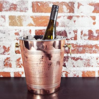 Premium Quality Hammered Copper Wine Chiller