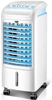 大型家電 エアコンファンクーラー シングル冷却ファン 移動式エアコンファン 小型家庭用エアコン 工業用冷凍機 屋外ガーデンヘアドライヤー (Color : 白, Size : 25*25*62cm)