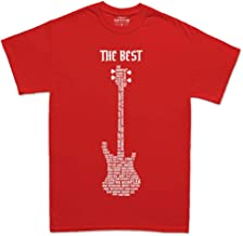 Bass Player Legend Bassist Guitar Electric 1959 American Jazz Precision Tshirt