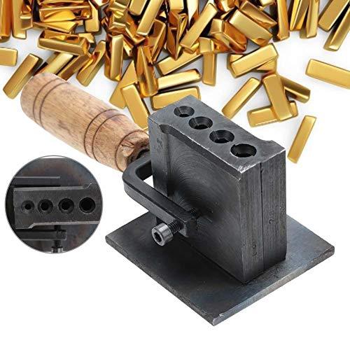 TMISHION Gießen Schmelzen Barrenform, Reversible Schmuck Barrenform Öl Nut Formherstellung Werkzeuge für Blech Gold Silber Casting