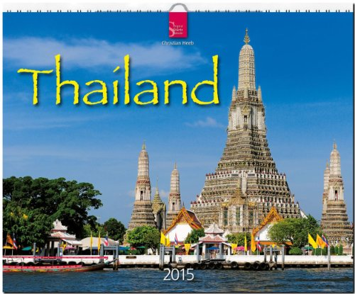 Thailand 2015 - Original Stürtz-Kalender - Großformat-Kalender 60 x 48 cm