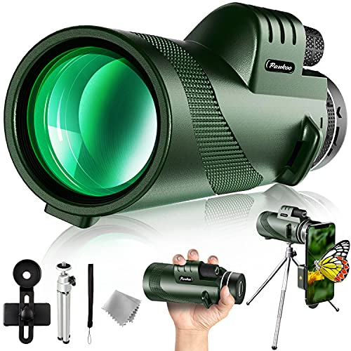 Pankoo 40X60 Monocular Telescope with Smartphone...