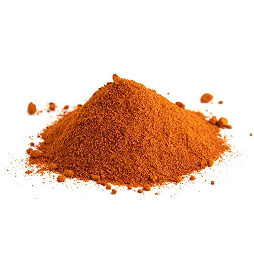 @tec Pigmentpulver, Eisenoxid, Oxidfarbe, Farbpulver Pigmentfarbe - Farbpigmente/Trockenfarbe für Beton, Epoxidharz + Wand - 100g (29,90/kg) Farbe: orange