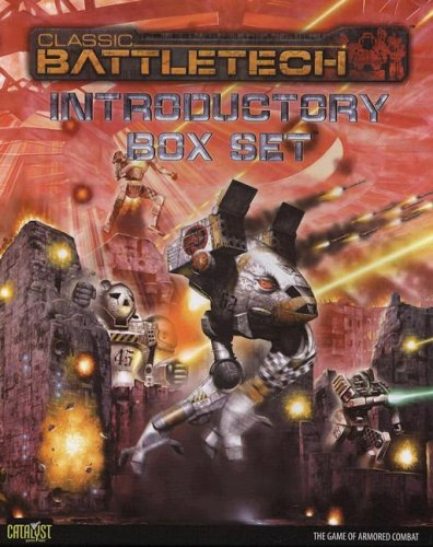 Classic Battletech Introductory Box Set [With 2 Six-Sided DiceWith 2 Heavy Duty Cards of TablesWith Poster-Sized MapWith 24 MiniaturesWith