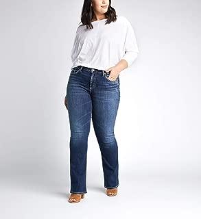 Silver Jeans Co. Women's Plus Size Avery Slim Boot Cut