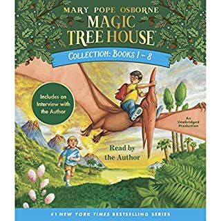 『Magic Tree House Collection: Books 1-8』のカバーアート