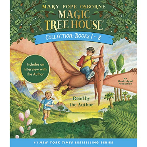 Couverture de Magic Tree House Collection: Books 1-8