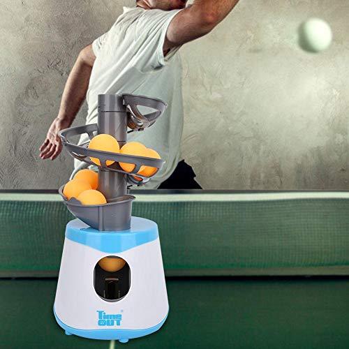 Lanzador de Ping Pong Lanzador automático de Tenis de Mesa para Ping Pong