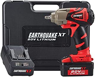 Earthquake Extreme Torque 3/8 Cordless 20 Volt Lithium Ion Impact Wrench