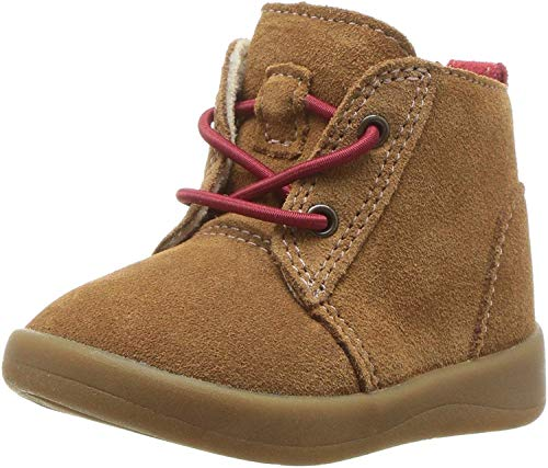 Brown Leather Kids Boots