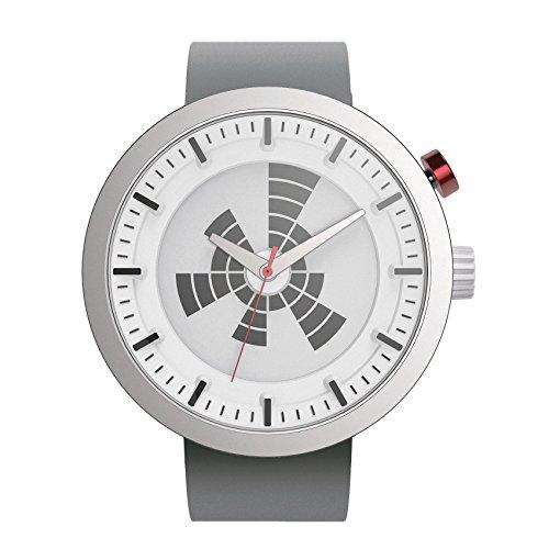 What? Unisex Erwachsene Analog-Digital Quarz Uhr mit Silikon Armband RW204STG