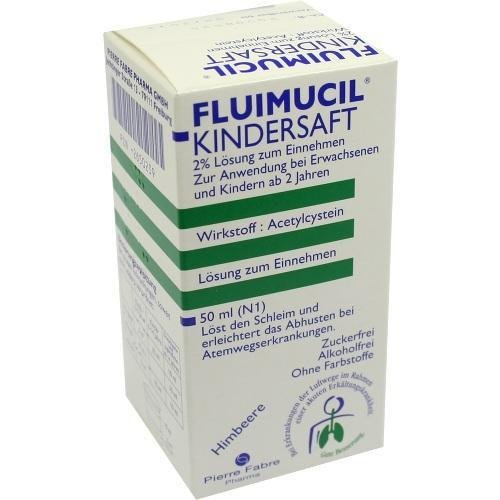 Fluimucil Kinder Saft, 50 ml