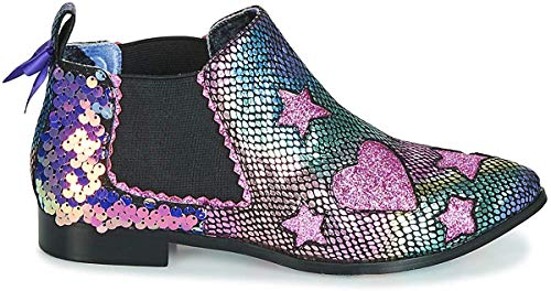 IRREGULAR CHOICE STARLIGHT EMPRESS Enkellaarzen/Low boots dames Roze Enkellaarzen