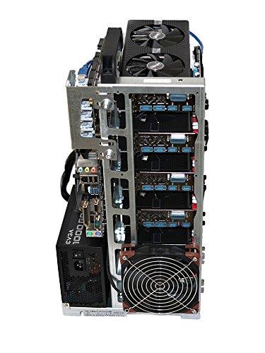 BITMINE.mn Frame Case Mining RIG-V6 Professional per ETH/XMR/ZEC/Bitcoin Gold - Made in Italy - (Solo Telaio)