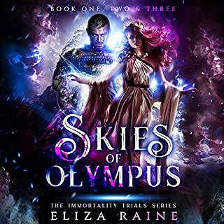 Skies of Olympus: Books One, Two & Three audiobook cover art
