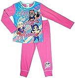Pijama para niñas de DC Superhéroe Catgirl We Can Be Heroes Supergirl tallas de 4 a 10 años Rosa rosa 4-5 Años