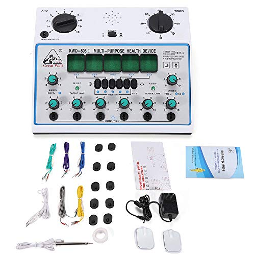KWD808-I Electric Acupuncture Stimulator Machine Output Patch Massager Care Acupuncture Stimulator Machine Massager Care 6 Output Patch 500-1000hpa