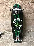 Mindless Voodoo Longboard Deck Rustler Green mit Achsen - 1B Ware...