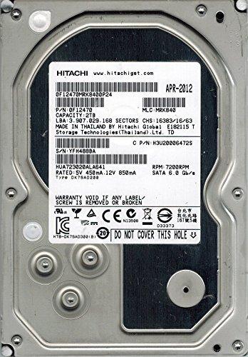 Hitachi hua723020ala641P/N: 0F12470MLC: mrk8402TB