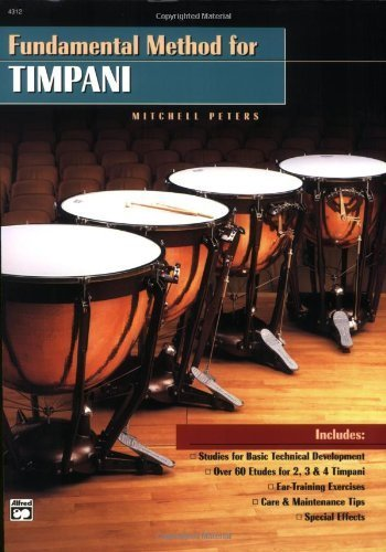 Fundamental Method for Timpani by Peters, Mitchell (December 1, 1993) Plastic Comb