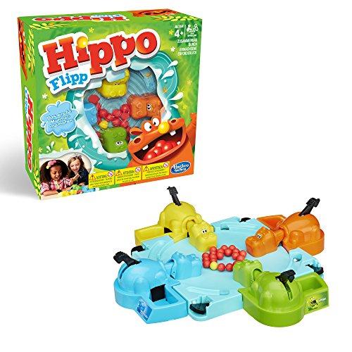 Hasbro Gaming 98936398 - Hippo Flipp kinderspel Hippo Flipp Classic