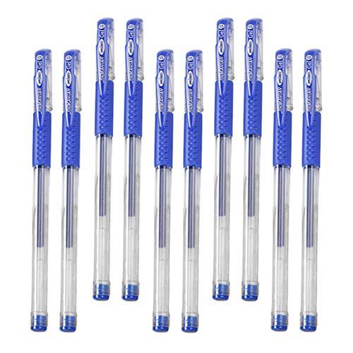 T TOOYFUL Rollerball Stifte Fine Point Kugelschreiber für Büro 0,5 Mm - Blau, 15cm