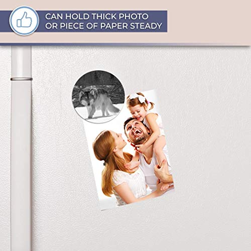 Aimant en vinyle destiné pour réfrigérateur, réfrigérateur BW – Awesome Wild Wolf in Snow pour bureau, armoire et tableau blanc, autocollants magnétiques