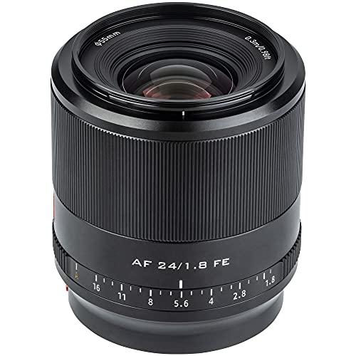 VILTROX 24mm F1.8 FE Obiettivo per Sony,Full-Frame Messa a fuoco automatica Obiettivo Angolo Ampio Prime Lente per Sony E-mount Mirrorless Fotocamera A7 A7III A7RIII A7RIV A9