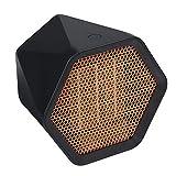 Calentador de 1000 vatios Calentador de escritorio con mini ventilador Calentador de calefacción portátil para el hogar Calentador eléctrico de corte automático Calentador de biocerámica Ptc - EU