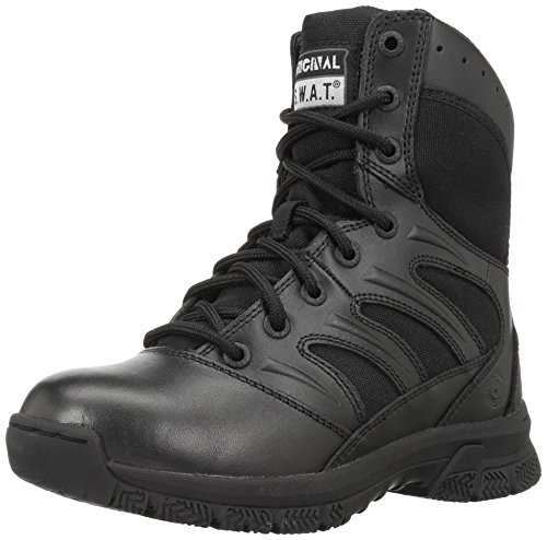 Airport Friendly Original SWAT Alpha Fury 8 Side Zip Tactical Boot High Performance Light Weight Duty Shoes