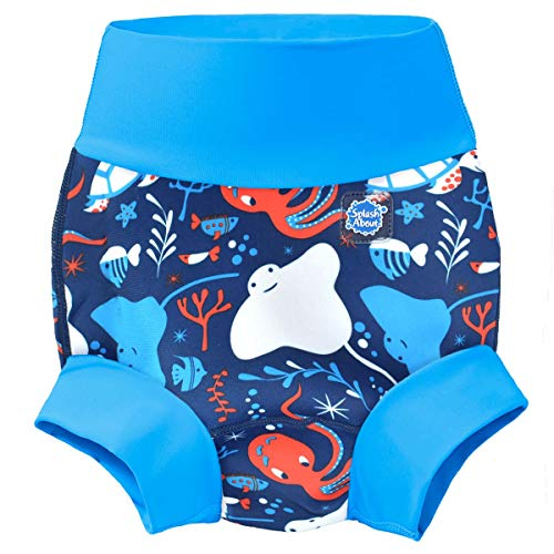 Splash About Baby Kid's New Improved Happy Nappy,Multicoloured(Under The Sea),12-24 months