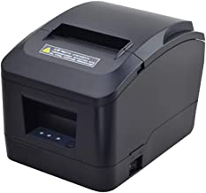 MUNBYN Thermal Printer USB 3'1/8 80mm Receipt Printer, Pos Printer with Auto Cutter ESC/POS Command Support Windows Mac Pos System