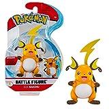 Bandai Pokémon WT0129 - Figura articulada de Pokémon de Battle Figure de Raichu (8 cm)