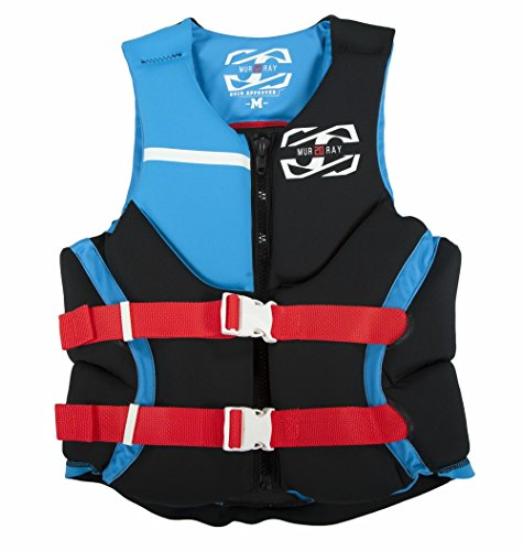 Why Choose JetPilot Men's Murray U.S Coast Guard Approved PFD Life Vest, Small, Blue