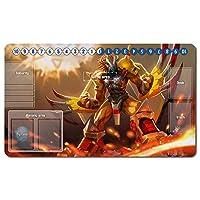 Digimon カードゲーム プレイマット デジモンアドベンチャー プレイマット テーブルマット サイズ 60X35 cm マウスパッド プレイマット マジック ザ・ギャザリング(50586)
